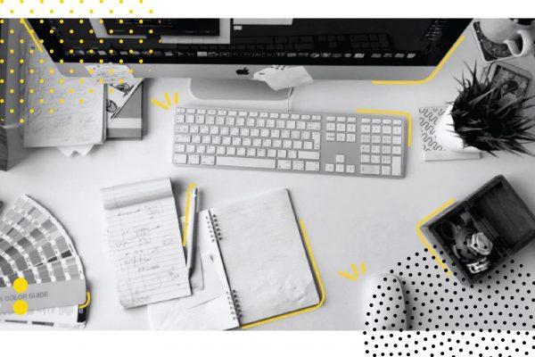 التصميم وبناء الهويات والتسويق الإلكتروني